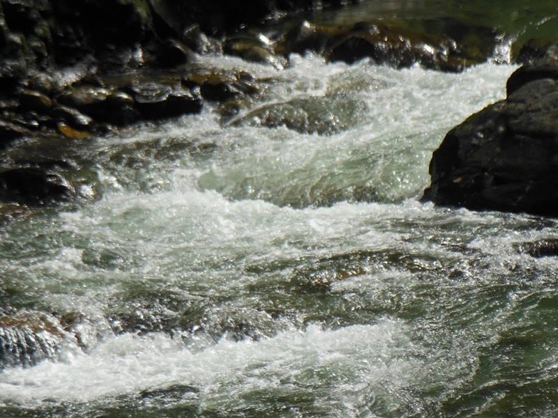 Klare Sache: Heißes Wasser